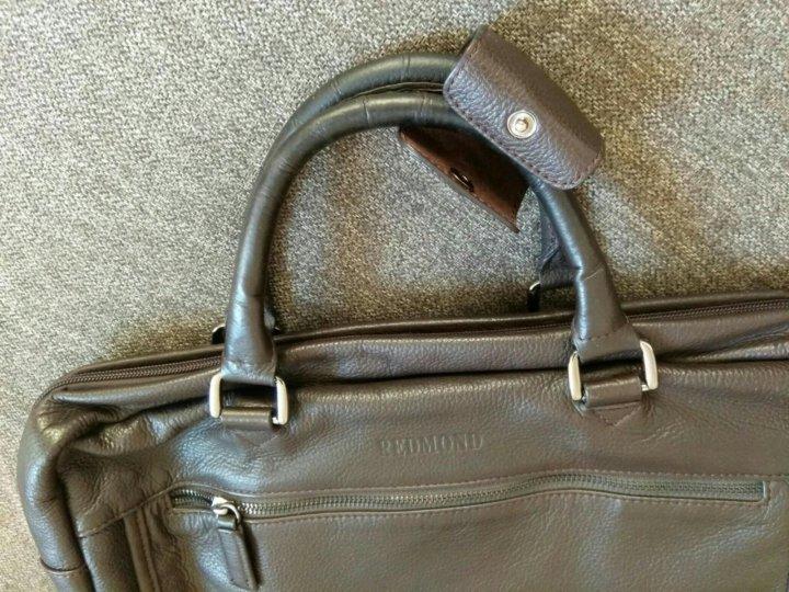ba06bd867eb7 Симферополь. Мужская сумка redmond натуральная кожа. Фото 4. Симферополь.