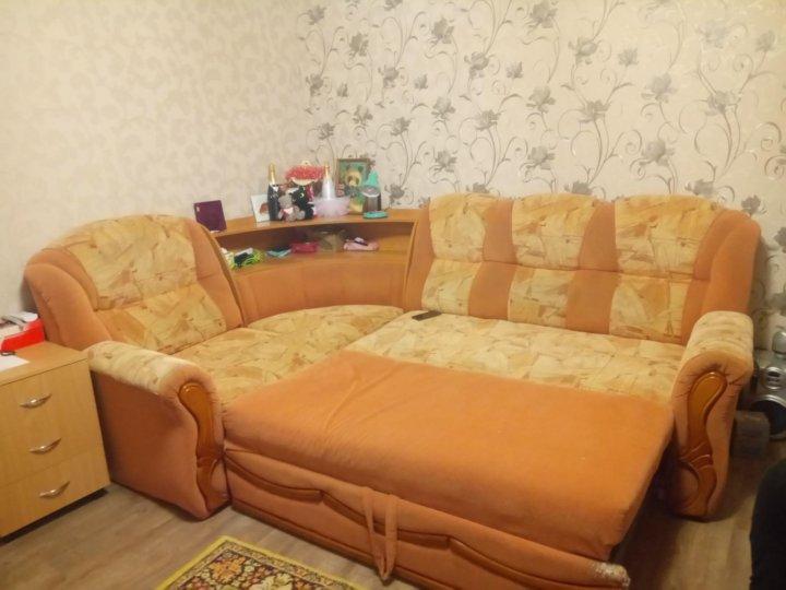 угловой диван бу купить в краснодаре цена 2 000 руб продано 1