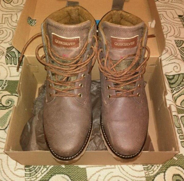 4f2f63cd4 Мужские зимние ботинки quiksilver (43 размер). Фото 1. Санкт-Петербург. ...