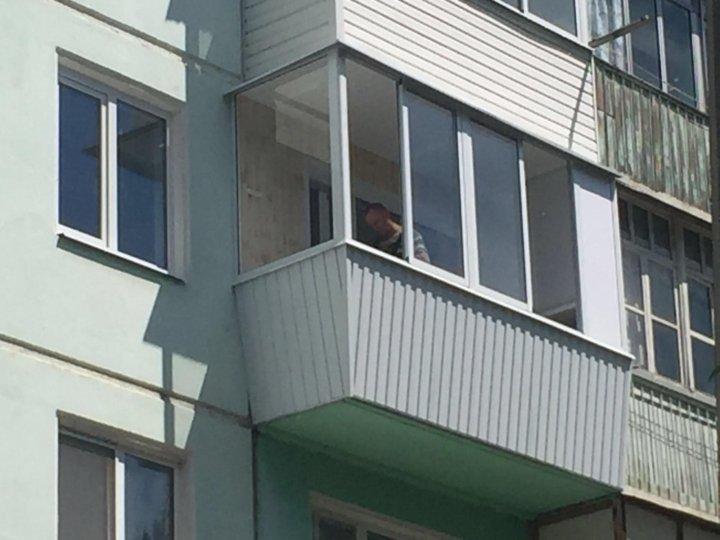 Остекления балкона любой сложности застеклить балкон размеры