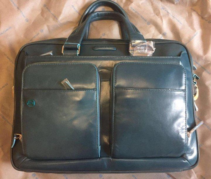 ba244ea3c6e8 Кожаная деловая сумка Piquadro CA2849B2/AV3 – купить в Москве, цена ...