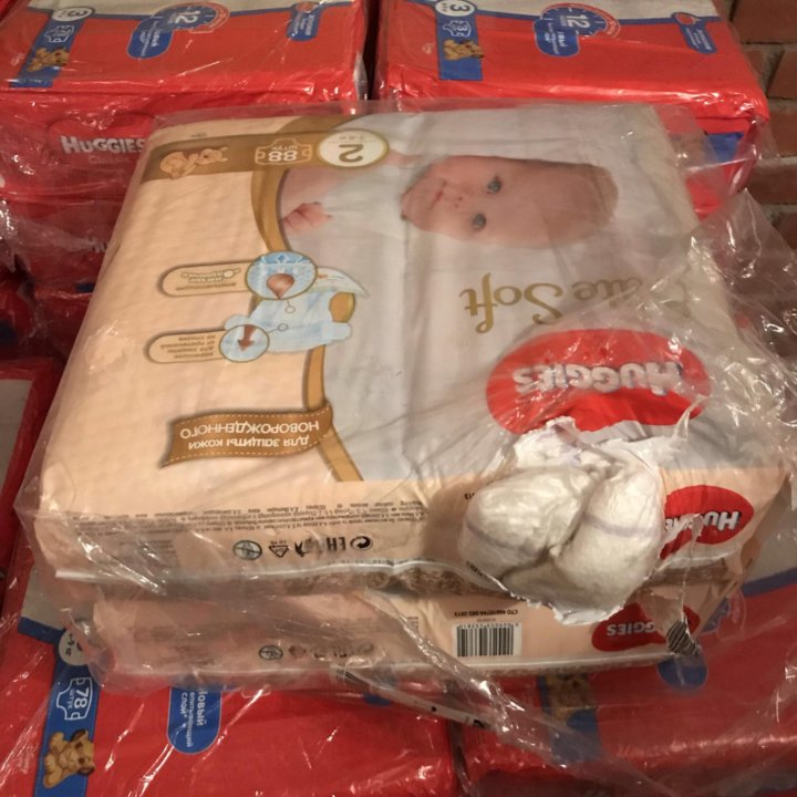 f511a730110b Подгузники Huggies Elite Soft 2(88) – купить в Омске, цена 600 руб ...