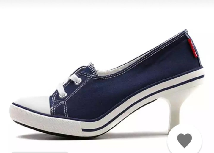 b4ee701c Туфли (кеды на каблуке) р.35,5-36, новые – купить в Зеленограде ...