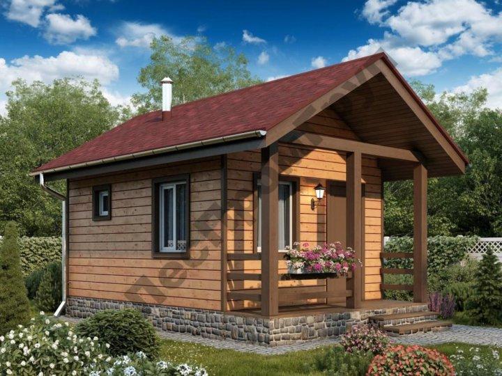 Проекты садовых домиков с ценами и фото вантовый