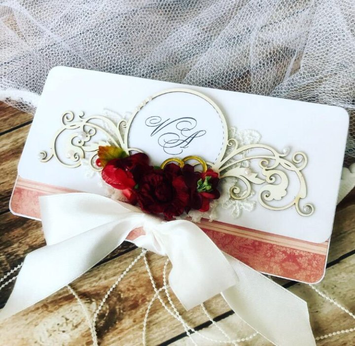 Открытки для денег на свадьбу своими руками бордовый цвет