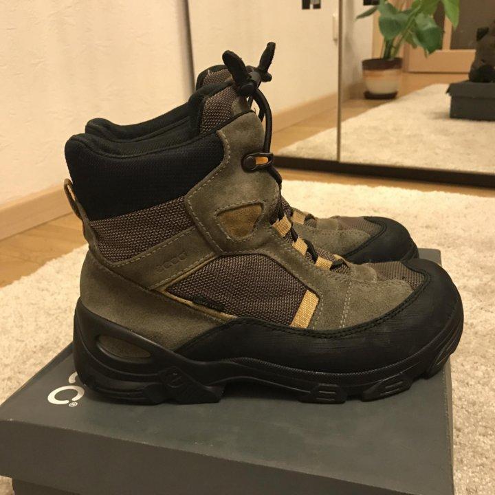 cade4235 Ботинки Ecco Gore-Tex, оригинал, 39 размер – купить в Москве, цена 2 ...