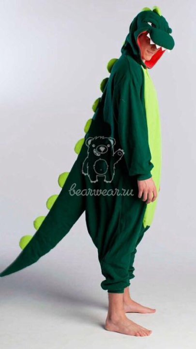 Пижама кигуруми Динозавр – купить в Арамиле a86f7fc92a622