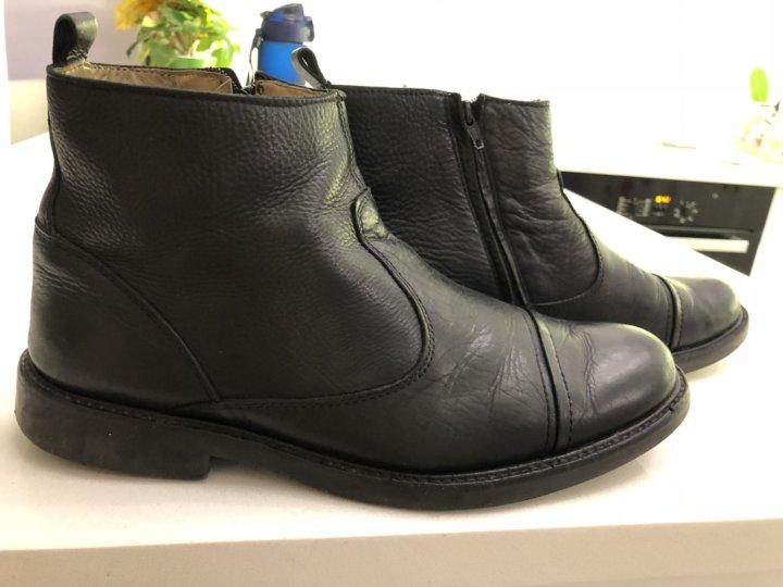 90bd1e17f Кожаные мужские ботинки – купить в Санкт-Петербурге, цена 1 200 руб ...