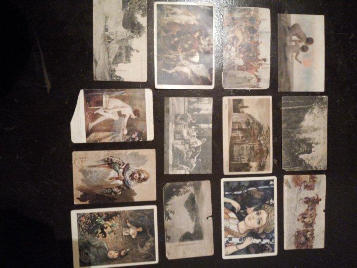 Моя коллекция почтовых открыток, маме
