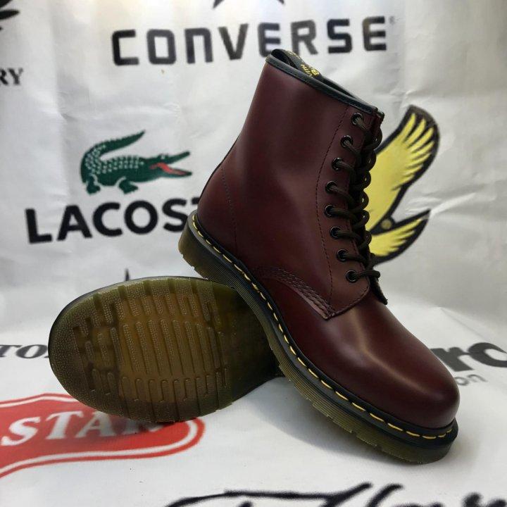 Ботинки Dr. Martens 1460 Cherry Red – купить в Красноярске ca78d5c29af9f