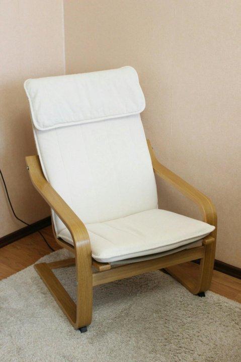 кресло качалка бежевое икеа купить в москве цена 5 000 руб