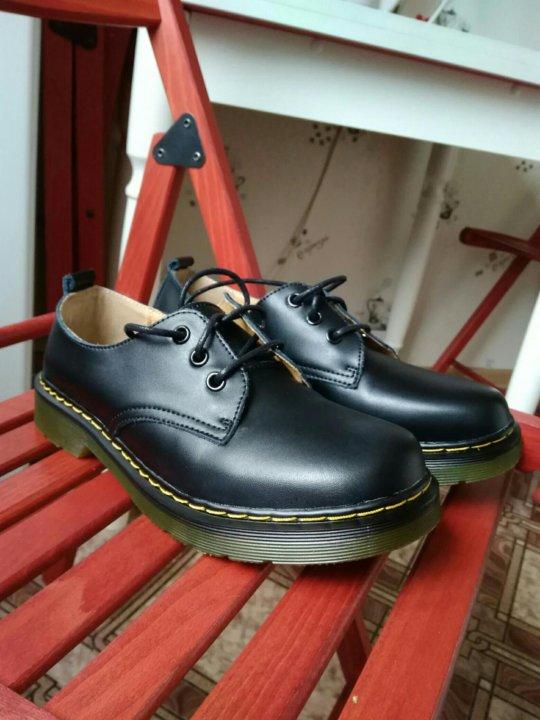58a309dc Ботинки типа Dr. Martens – купить в Колпино, цена 1 950 руб ...