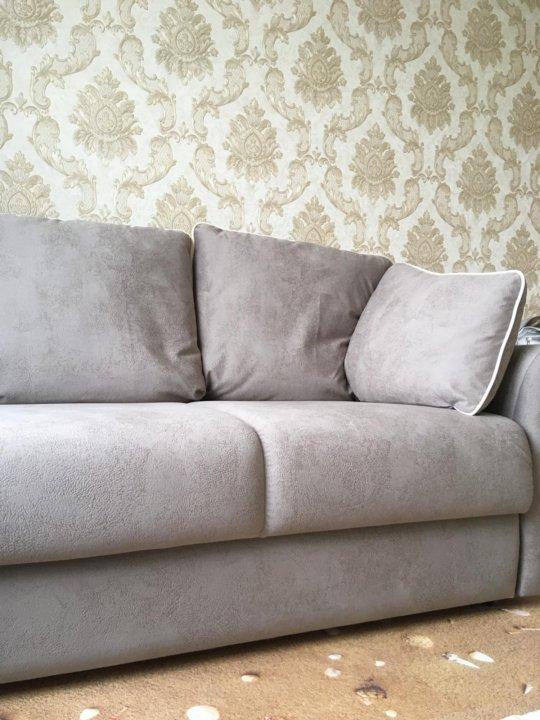 новый диван Moon еврокнижка цвет серый купить в москве цена 38