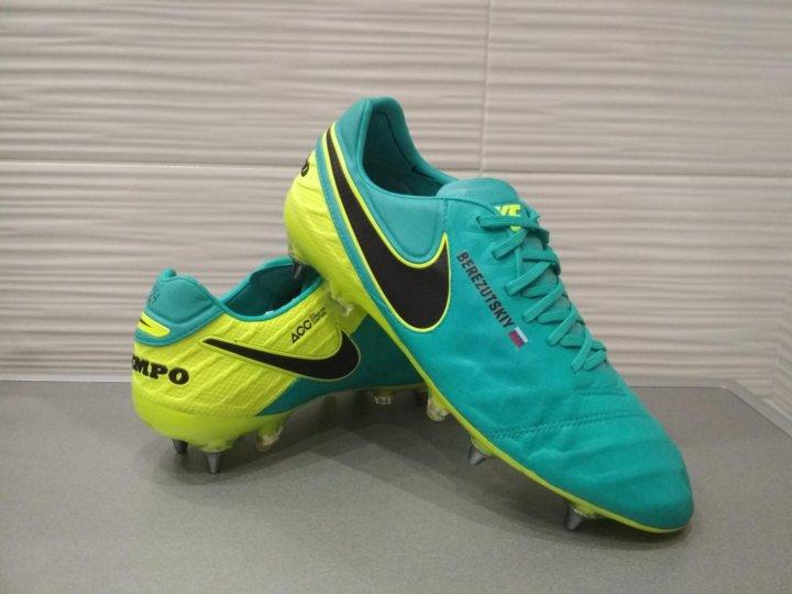 a28469d0 Профессиональные бутсы Nike Tiempo – купить в Москве, цена 4 500 руб ...