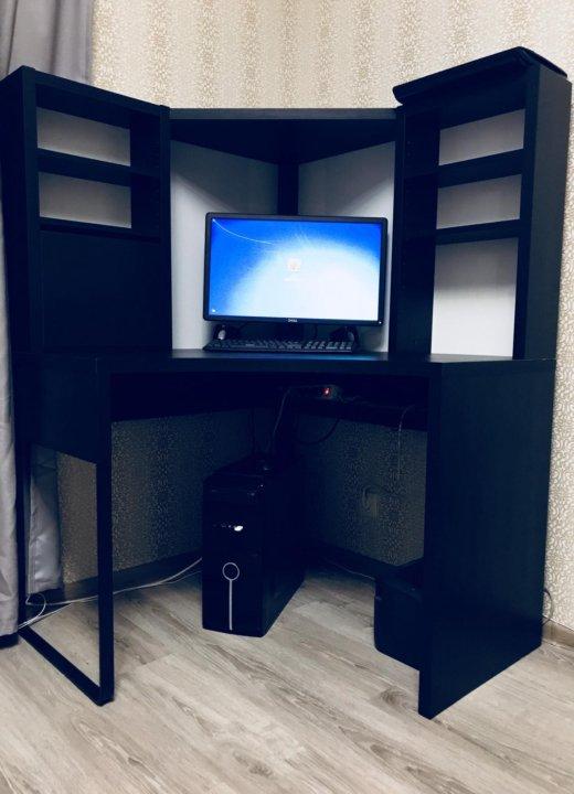 компьютерный стол угловой икеа микке Ikea купить в москве цена 5