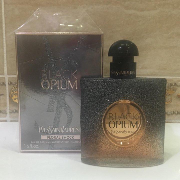Yves Saint Laurent Black Opium Floral Shock 50 Ml купить в