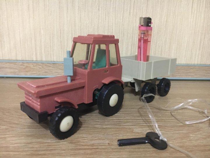 трактор с прицепом игрушка ссср фото доме она
