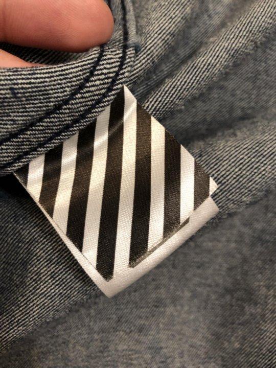 Джинсовая рубашка Off-White оригинал – купить в Москве, цена 10 500 ... abc13663dc8