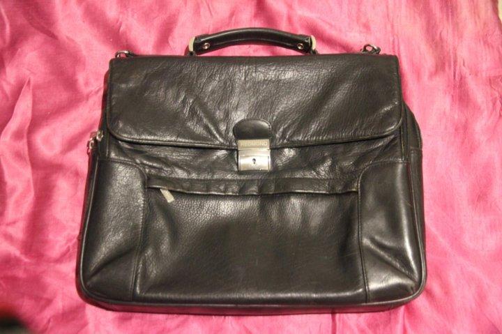 e98945c0998f кожаный портфель Redmond – купить в Екатеринбурге, цена 1 500 руб ...