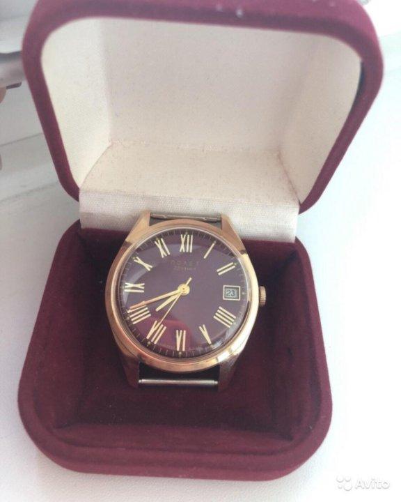 Золотые часы полет как продать хронограф полет часы продать