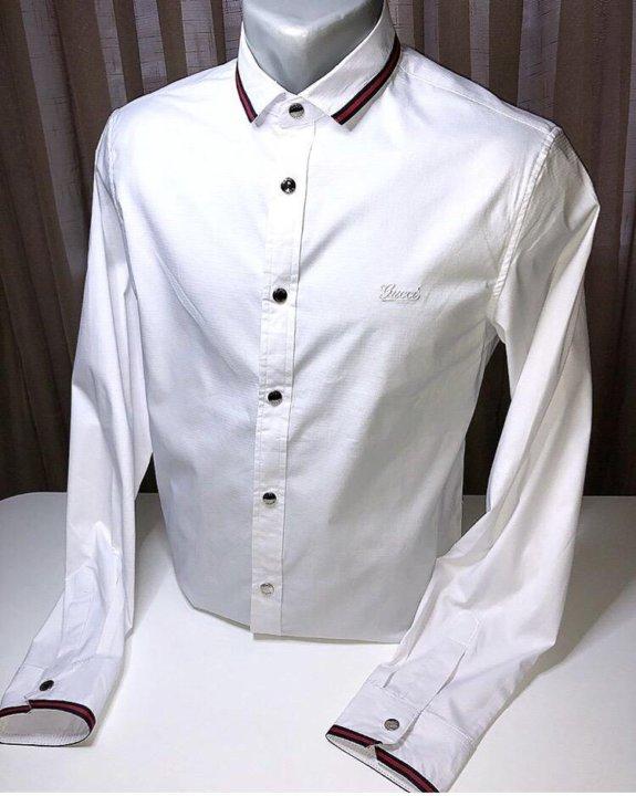 5b5024501502 Рубашка мужская новая Gucci – купить в Севастополе, цена 2 300 руб ...