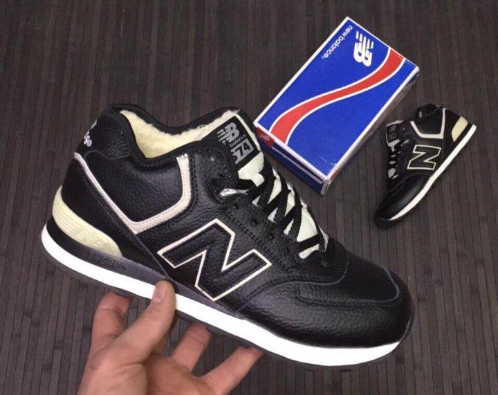 separation shoes 731d3 a818a Мужские New Balance 574 зимние – купить в Москве, цена 3 998 ...