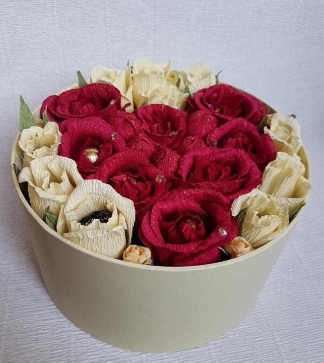 Невесты букет из конфет собака роз