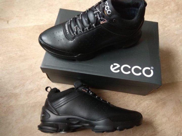 2edb06e47 Зимние мужские новые кожаные кроссовки Ecco Biom – купить в Химках ...