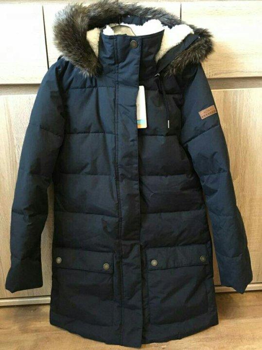 15aa69c0544d НОВАЯ Куртка парка женская ROXY ELLIE TRUE BLACK – купить в Москве ...