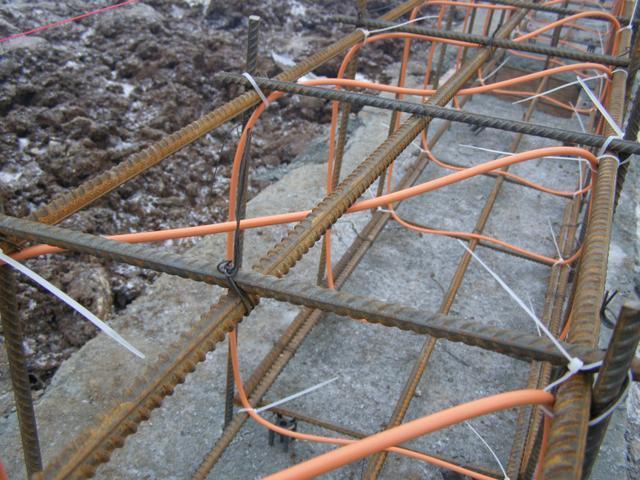 как прогревают бетон электричеством