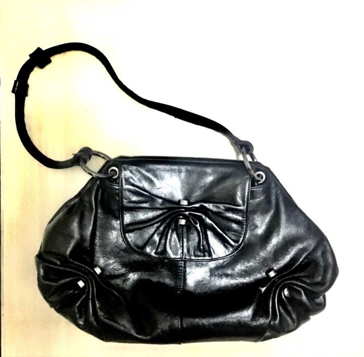 166b70d7a296 Кожаная сумка Akvorioli (Италия) – купить в Москве, цена 1 500 руб ...