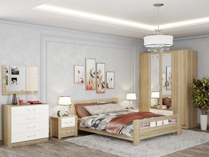 спальня сопрано кровать 16м комод шкаф купить в москве цена