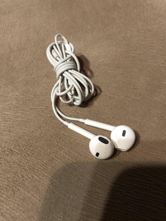 Наушники EarPods для IPhone. Оригинальные d91b777146cfd