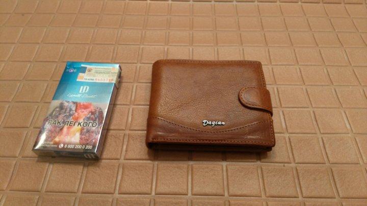 76bee6d85b5a Новый Кошелек. Кожаный – купить в Москве, цена 300 руб., продано 26 ...