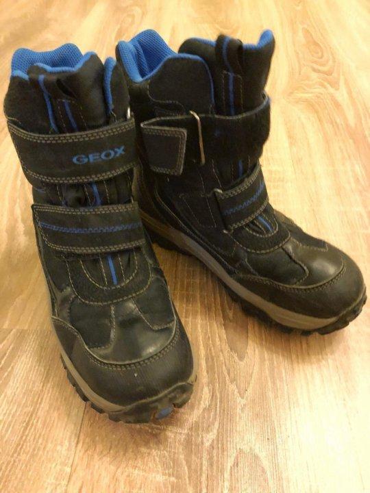 f1c1d826f2189e Зимние ботинки Geox 36 р на мальчика непромокаемые – купить в ...