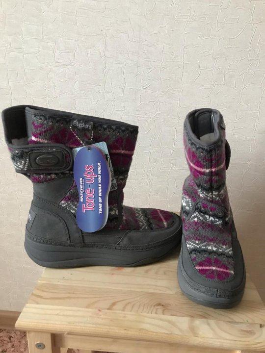 cc6148042 Зимняя обувь Skechers tone-ups новая – купить в Томске, цена 1 000 ...
