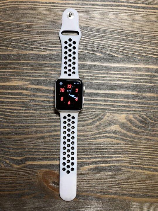 97350943 Apple watch series 3 nike+ 42mm. – купить в Санкт-Петербурге, цена ...