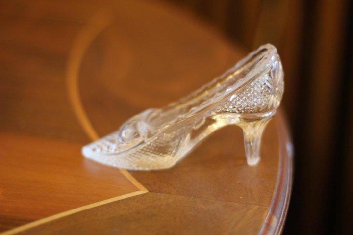 красавица стихи к подарку туфелька для золушки делать
