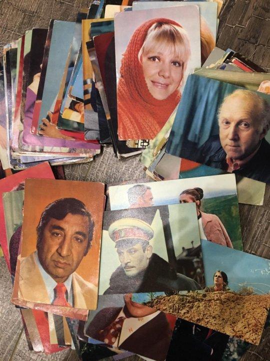 набор открыток с советскими актерами это грозит раскрытием