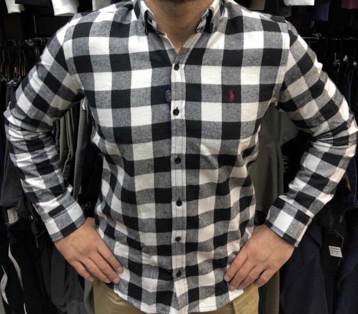 Рубашка мужская Ralph Laurent фланелевая новая – купить в Уфе, цена ... 381a1dfe675
