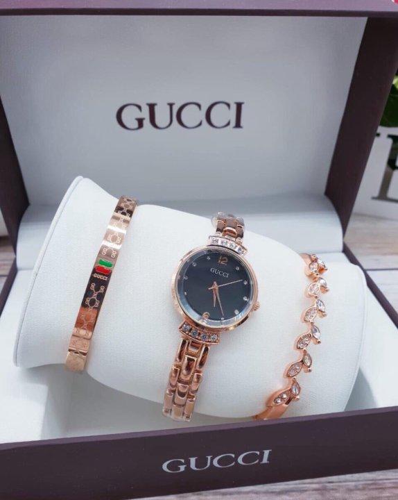 Часы Gucci с браслетами в Черновцах