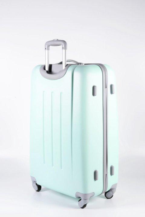 3ba3fb9d591b Санкт-Петербург. Большой пластиковый чемодан baudet мятный large. Фото 2.