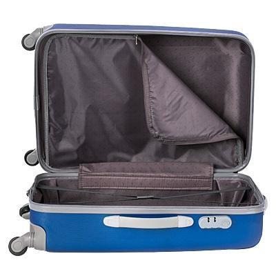 234da2850636 Санкт-Петербург. Большой пластиковый чемодан baudet синий large. Фото 3.
