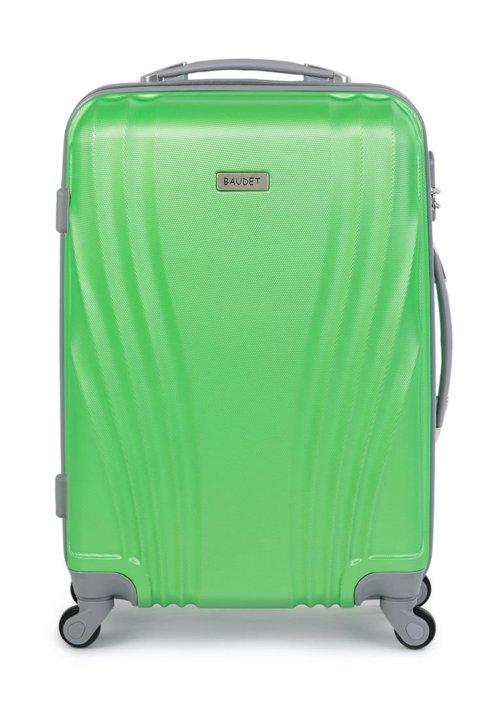 c57da0488a29 Большой пластиковый чемодан Baudet зеленый Large – купить в Санкт ...