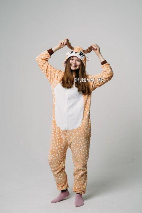 Пижама кигуруми Олень – купить в Екатеринбурге 8a57797acaa8c