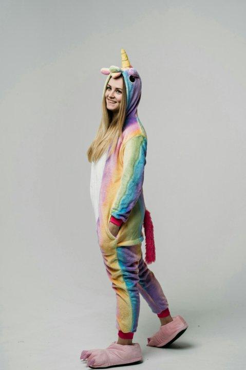 Пижама кигуруми Радужный единорог – купить в Екатеринбурге 5b5bc067ff65d