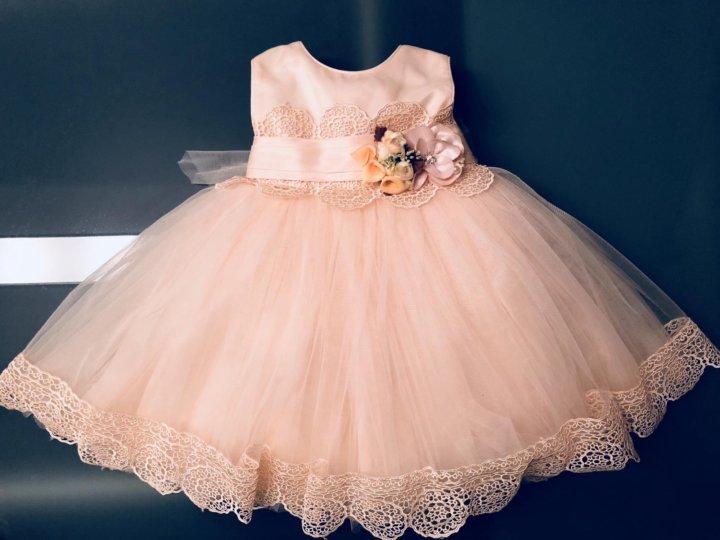 f5b77b5dc5c Платье нарядное на 12мес (1годик) – купить в Якутске