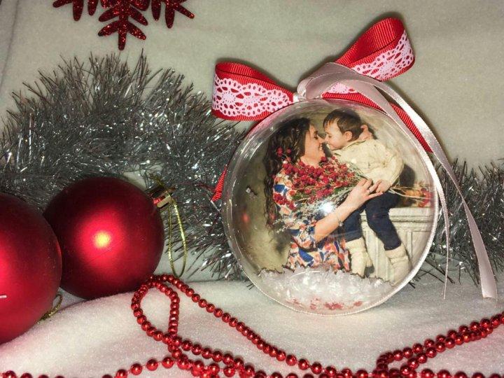 как сделать новогодние шары с фотографией внутри считают это извращением