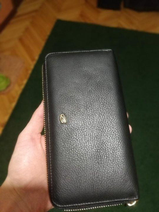 7afd06ce844f Кошелёк портмоне кожаный новый унисекс – купить в Москве, цена 3 000 ...