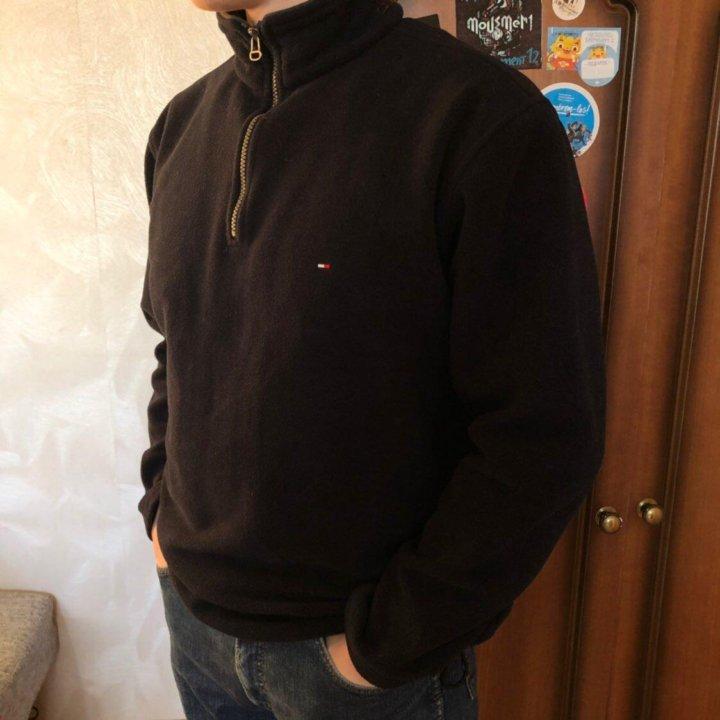 Теплая флисовая кофта Tommy Hilfiger оригинал – купить в Москве ... a61e09afa94b7